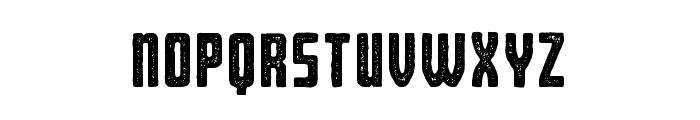 Bearbone Stamp Font LOWERCASE