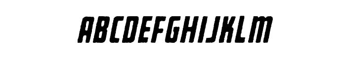 BearboneEdgeOblique Font LOWERCASE