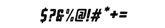 BearboneStampOblique Font OTHER CHARS