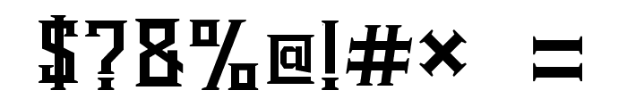 Bearded Lady Regular Font OTHER CHARS