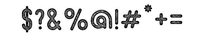Beatster Letterpress Font OTHER CHARS