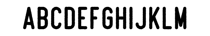 Beatster Rough Font LOWERCASE