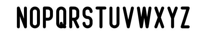 Beatster Font UPPERCASE