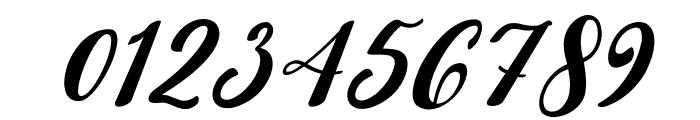 Beauty Dina Italic Font OTHER CHARS