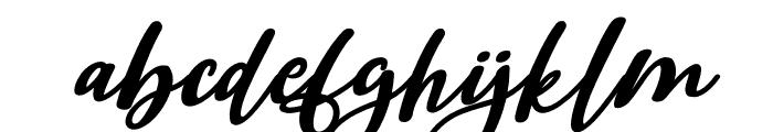 Beauty Dina Italic Font LOWERCASE