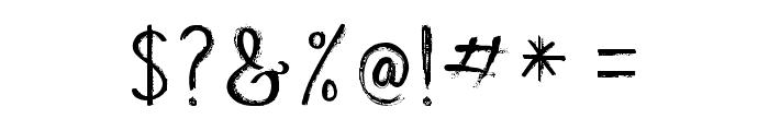 BeautyHeart-Script Font OTHER CHARS
