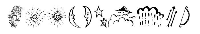 BeautyHeartDoodles Font OTHER CHARS