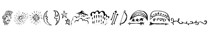 BeautyHeartDoodles Font LOWERCASE