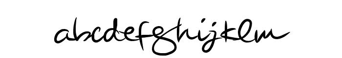 BeautySignature Font LOWERCASE