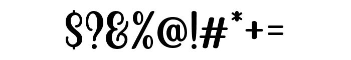 Becks Delights Regular Font OTHER CHARS