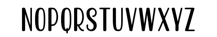 Becks Delights Regular Font UPPERCASE