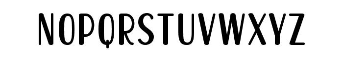 Becks Delights Regular Font LOWERCASE
