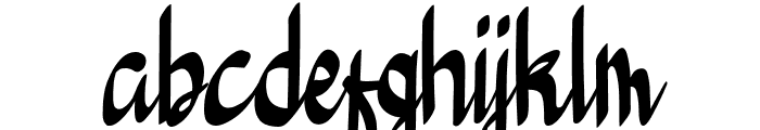 Bedeng Holis Font LOWERCASE