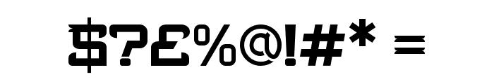 Bedengkang-Expanded Font OTHER CHARS