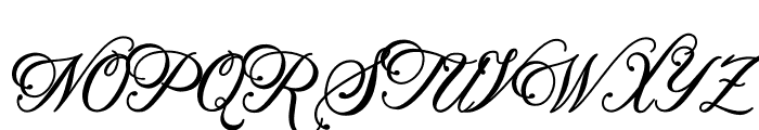 Beethoven Syinthesa Font UPPERCASE