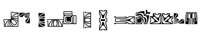 Behrens Schmuck Font UPPERCASE