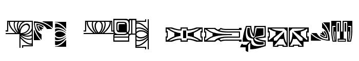 Behrens Schmuck Font LOWERCASE