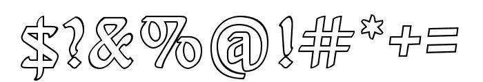 BehrensSchrift Licht Font OTHER CHARS