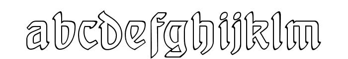 BehrensSchrift Licht Font LOWERCASE