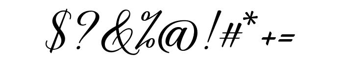 BelaYasmine Font OTHER CHARS