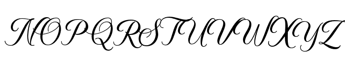 BelaYasmine Font UPPERCASE