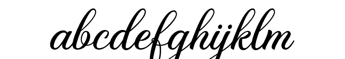 BelaYasmine Font LOWERCASE