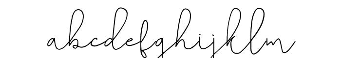 Belashic Regular Font LOWERCASE