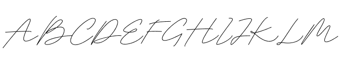 Belatina Font UPPERCASE