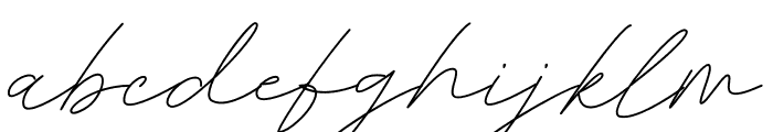 Belatina Font LOWERCASE