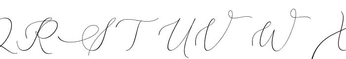 Belinda Carolyne Font UPPERCASE