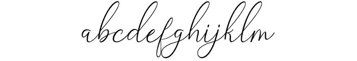 Belinda Carolyne Font LOWERCASE
