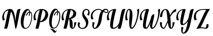 Belinda Font UPPERCASE