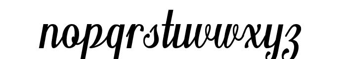 Belinda Font LOWERCASE