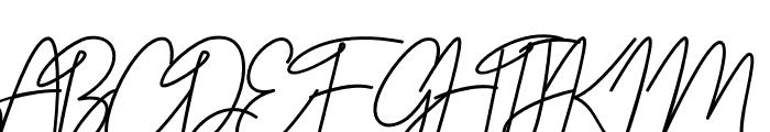 Belinday Font UPPERCASE