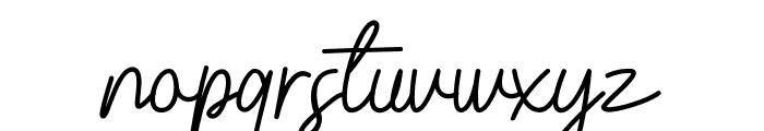 Belinday Font LOWERCASE