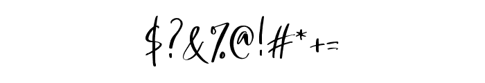 Bellatrone Font OTHER CHARS