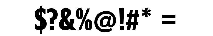 Belle Sans Ultra Cond Blk Font OTHER CHARS