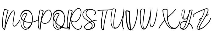 Belligro Font UPPERCASE