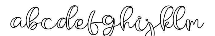 Belligro Font LOWERCASE