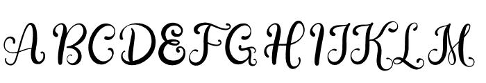 Bellini Font UPPERCASE