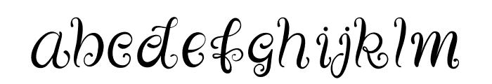 Bellini Font LOWERCASE