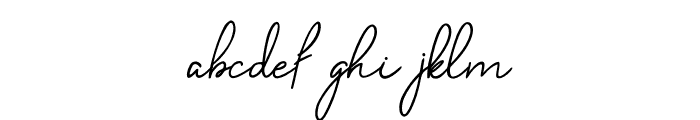 Belliniaja Font LOWERCASE