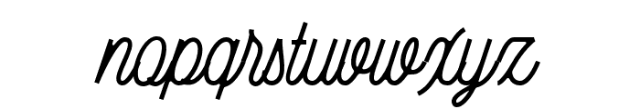 Bellonion Font LOWERCASE