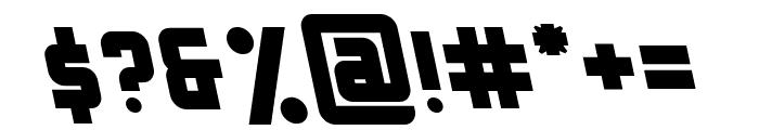 Bellyn Natural Tilted Font OTHER CHARS