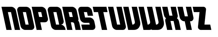 Bellyn Natural Tilted Font UPPERCASE