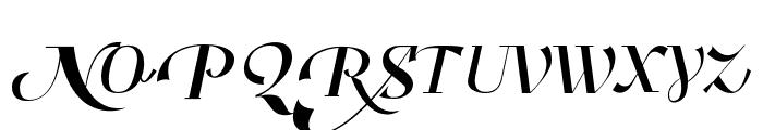Benihana Alt One Font UPPERCASE