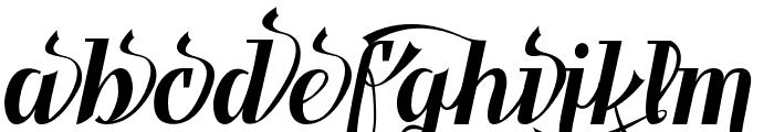 Benihana Alt Two Font LOWERCASE