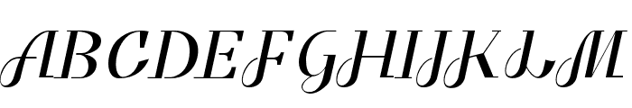 Benihana Font UPPERCASE