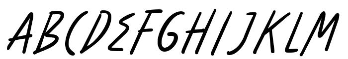 Benorante-Regular Font UPPERCASE