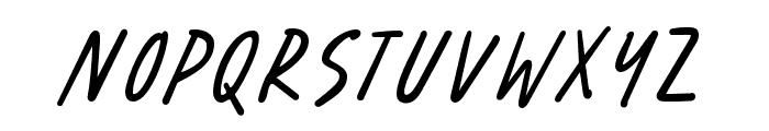 Benorante-Regular Font LOWERCASE